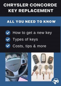 Chrysler Concorde key replacement - All you need to know