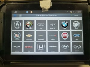 Key coding machine for BMW x5