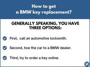 How to get a BMW key replacement