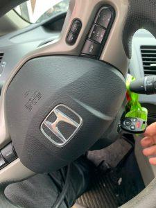 Honda transponder key and ignition cylinder