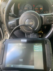 Jeep Patriot key replacement coding machine