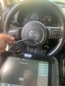 On-site coding service for Jeep Patriot key