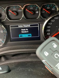 Chevrolet key fob replacement - An automotive locksmith can program on-site