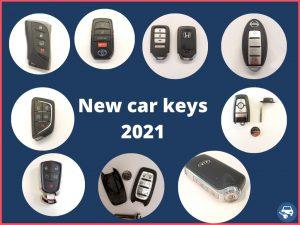 2021 new car keys