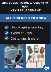 Chrysler Town & Country key replacement - All you need to know