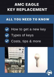 AMC Eagle key replacement - All you need to know