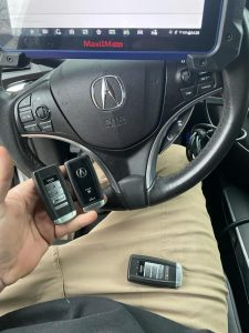 Programming machine for Acura key fobs