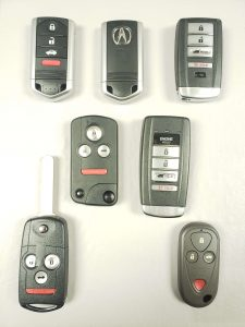 Acura car keys replacement