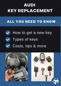 Audi key replacement - All you need to know