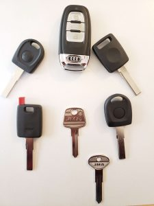 Audi Key Replacement - Different Model & Years
