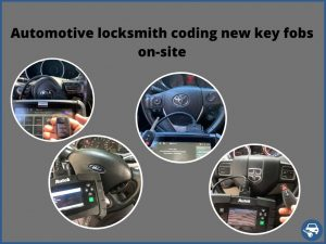 On-site 24/7 service! Key fobs replacement keys - Variety of makes