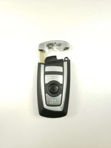 Key fob replacement and an emergency key (BMW)