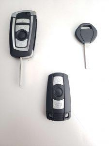 BMW key fob, transponder Key - Dealer should be able to cut and program