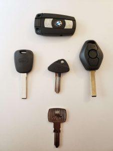 """""""Blank"""" Uncut BMW Car Keys"""