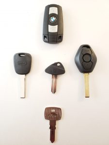 BMW Keys Replacement - Different Years, Different Models