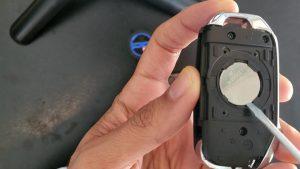 Key battery replacement process - Kia