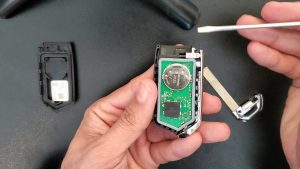 Key fob battery replacement - Kia