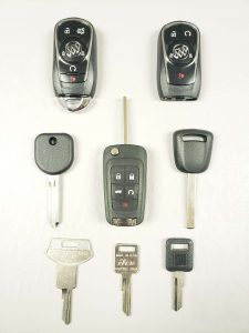 Buick keys replacement - Different models