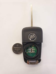 Inside look of Buick Regal flip key