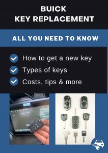 Buick Key Replacement - All You Need To Know