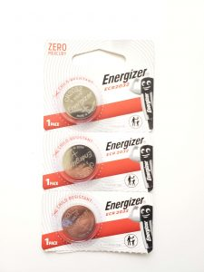 Cadillac Key Fob, Emergency Key & Battery (CR2032)