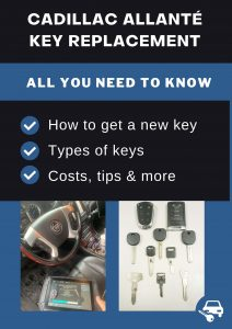 Cadillac Allanté key replacement - All you need to know