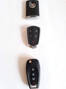 GMC Remote Replacement Keys - Key Fobs - Push To Start