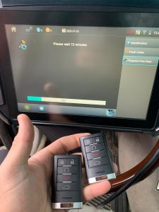 Cadillac SRX Car Key Programming Machine