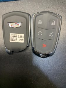 Cadillac Key Fob - Automotive Locksmith Can Program New Fob On Site