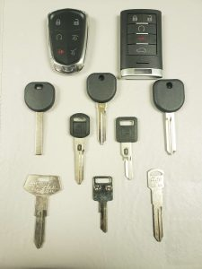 Cadillac Brougham Keys Replacement