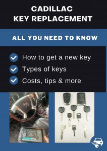 Cadillac key replacement - All you need to know