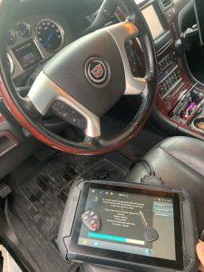 Cadillac keyless entry and transponder key coding