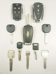 Chevrolet replacement car keys - Different generations & security features