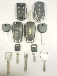 Chevrolet El Camino Keys Replacement