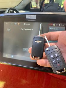 Chevy key coding on-site