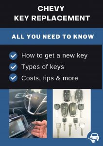 Chevrolet key replacement - All you need to know