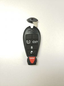Chrysler Key Fob, Emergency Key & Battery