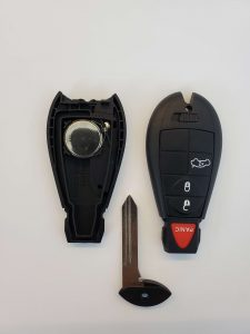 Key fob battery replacement - Dodge