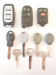 Dodge Remotes & Fobs & Car Keys Replacement - Older and Newer Keys