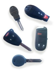 Jeep Replacement Keys Fob Remote