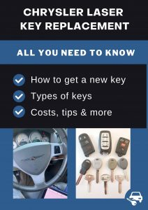 Chrysler Laser key replacement - All you need to know