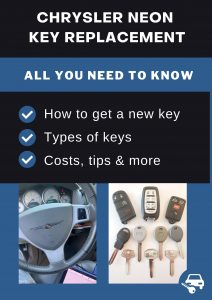 Chrysler Neon key replacement - All you need to know