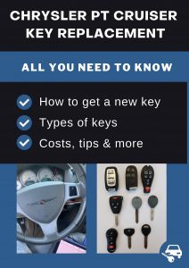 Chrysler PT Cruiser key replacement - All you need to know