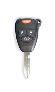 Jeep Uncut Replacement Car Key