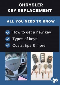 Chrysler key replacement - All you need to know