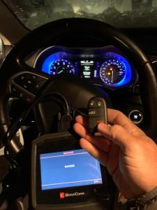 Automotive Locksmith Programming a Chrysler Key On-site
