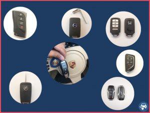 Different types of car keys