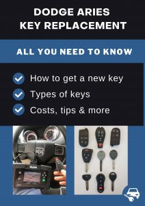 Dodge Aries key replacement - All you need to know
