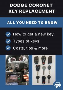 Dodge Coronet key replacement - All you need to know