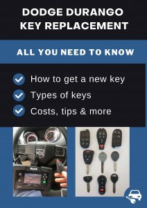 Dodge Durango key replacement - All you need to know
